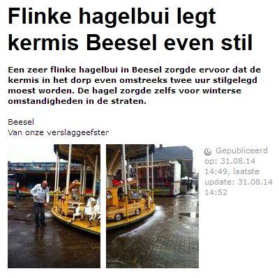 Uit dagblad de Limburger